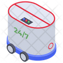 Delivery Robot Icon