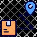 Route Delivery Location Icon