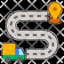 Delivery Gps Location Icon