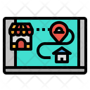 Delivery Food Restaurant Icon