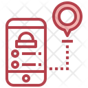 Delivery Route Delivery Location Location Pin Icon