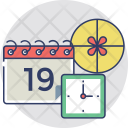 Delivery Schedule Timing Icon