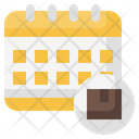 Calendar Delivery Schedule Shopping Icon