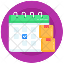 Delivery Planner Delivery Schedule Logistics Schedule Icon
