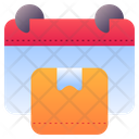 Delivery Scheduled Schedule Delivery Icon
