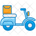 Delivery Scooter Icon