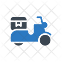 Delivery Scooter Fast Icon