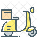 Scooter Fast Delivery Delivery Icon