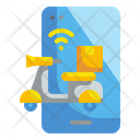 Delivery Scooter Delivery Shipping Icon