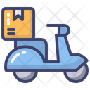 Delivery Scooter Delivery Scooter Icon