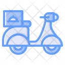 Motorbike Motorcycle Scooter Icon