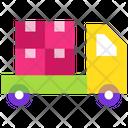 Delivery Service Delivery Truck Parcel Van Icon