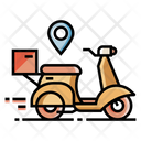 Delivery Service Delivery Courier Delivery Location Icon
