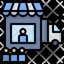 Delivery Service Post Icon