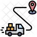 Delivery Logistic Transportation Icon