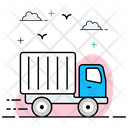Delivery Van Logistic Delivery Vehicle Icon