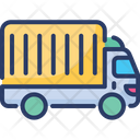 Delivery Services Transportation Vehicle Icon