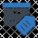 Tag Label Parcel Icon