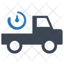 Time Delivery Service Icon