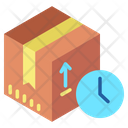 Delivery Time Shipping Time Clock Icon