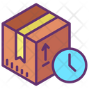 Clock Delivery Package Delivery Time Shipping Time Icon