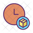 Delivery Time Fast Delivery Pacakge Icon