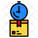 Delivery Logistics Package Box Icon