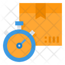 Tracking Time Delivery Icon