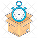 Delivery Time Fast Delivery On Time Delivery Icon