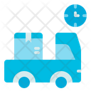 Delivery Time Truck Delivery Icon