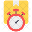 Shipping Time Delivery Time Parcel Icon