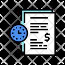 Forfeit Time Late Icon