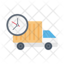 Deadline Delivery Lorry Icon
