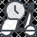 Timer Circular Arrows Clocks Icon