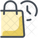 Parcel Delivery Time Icon