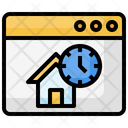 Browser Homm Clock Icon