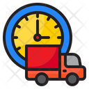 Delivery Time Time Clock Icon