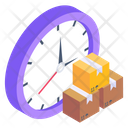Parcel Schedule Delivery Time Delivery Schedule Icon