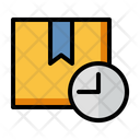 Delivery Time Shipping And Delivery Time Management Icon