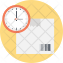 Delivery Time Tracking Icon