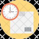 Shipment Process Clock Icon