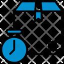 Timer Box Logistic Icon