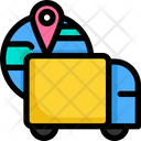 Location Shopping Online Icon