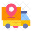 Delivery Tracking Delivery Location Shipping Icon