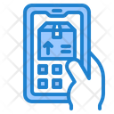 Delivery Tracking Delivery Box Package Icon