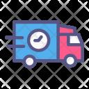 Delivery trekking Icon