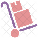 Delivery Trolley Delivery Box Delivery Boxes Icon