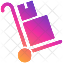 Delivery Trolley Trolley Box Icon