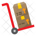 Delivery Trolley Trolley Shipping Icon