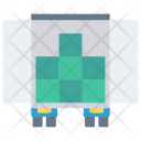 Delivery Truck Boxes Icon